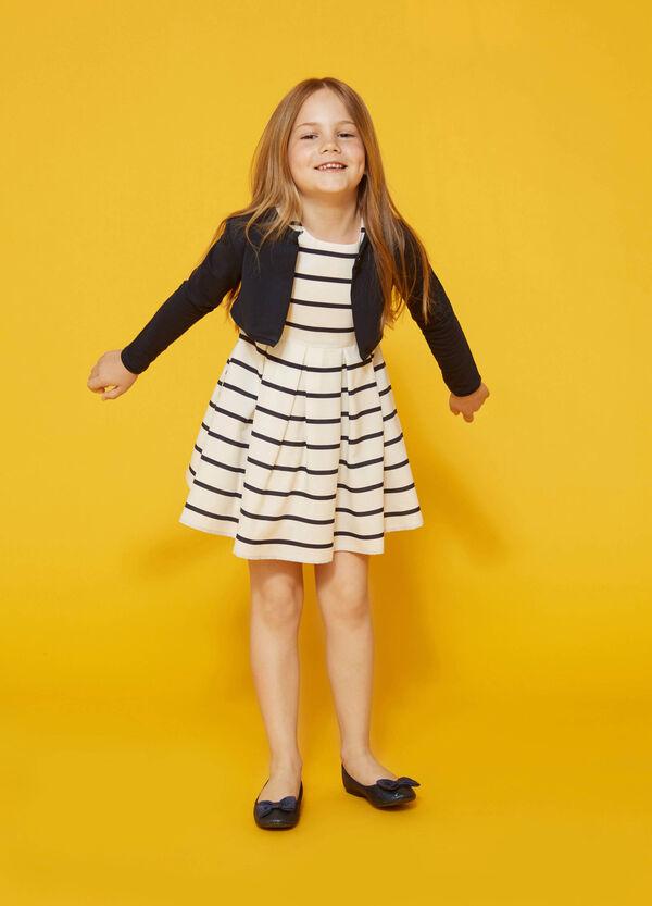 Striped sleeveless dress | OVS