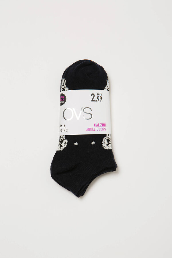 Two-pack short socks with sheep | OVS