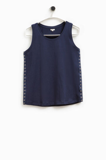 Smart Basic top with eyelets