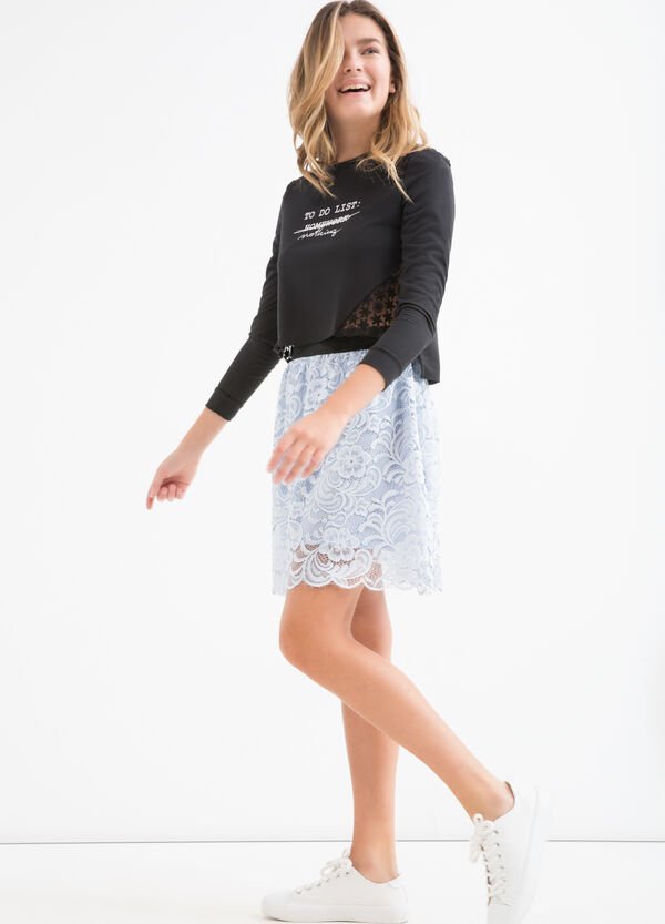 Teen lace skirt | OVS