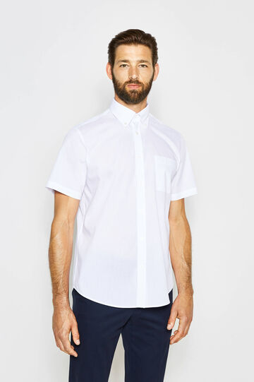 Regular-fit formal shirt with small pocket
