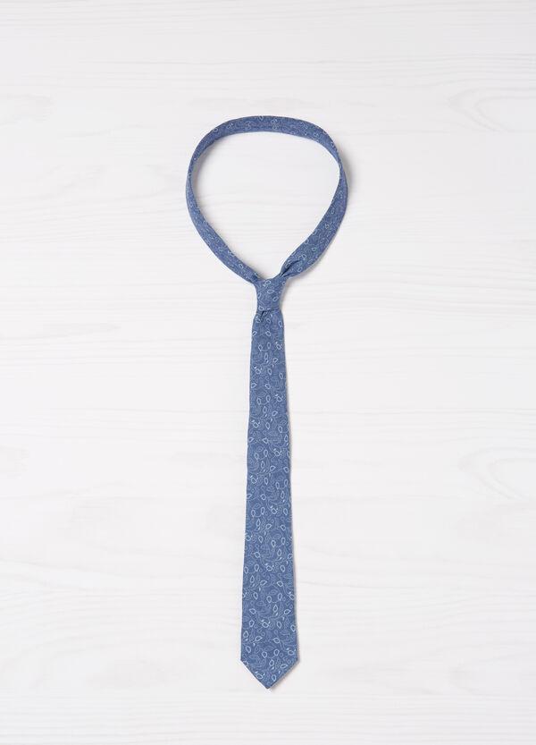 Rumford 100% linen tie | OVS