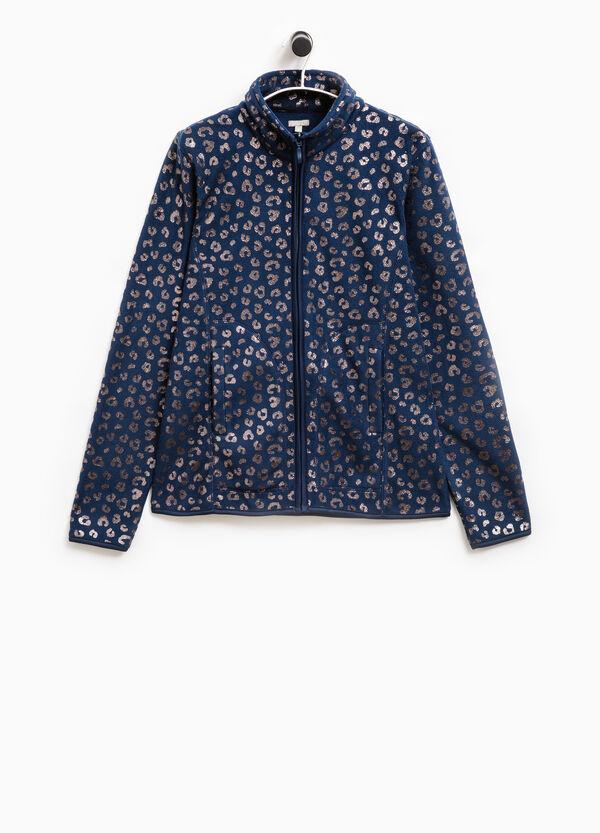Smart Basic fleece sweatshirt with animal pattern | OVS