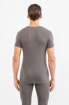 T-shirt intima OVS Under Tech, Grigio scuro melange, hi-res