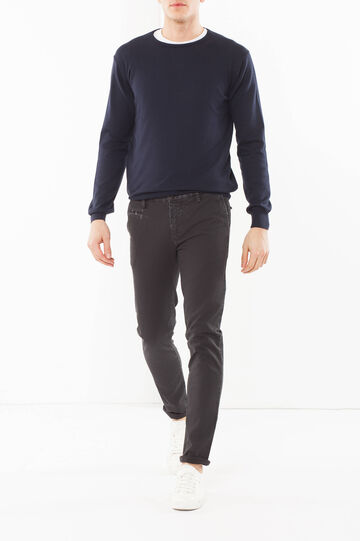 Five-pocket premium chinos