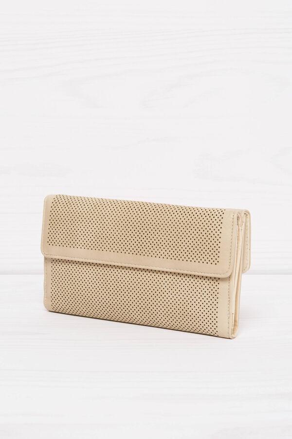 Solid colour openwork purse | OVS