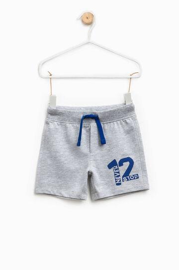 Pantaloncini in cotone stampati