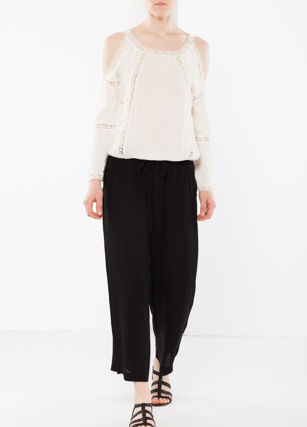 Drawstring trousers | OVS