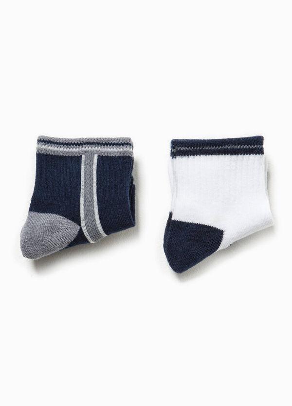 Set due calze corte in cotone   OVS