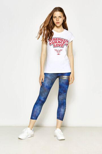 T-shirt with Wonder Woman print