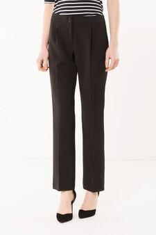 Suit pants, Black, hi-res
