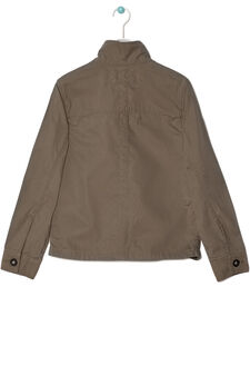 Canvas jacket, Army Green, hi-res