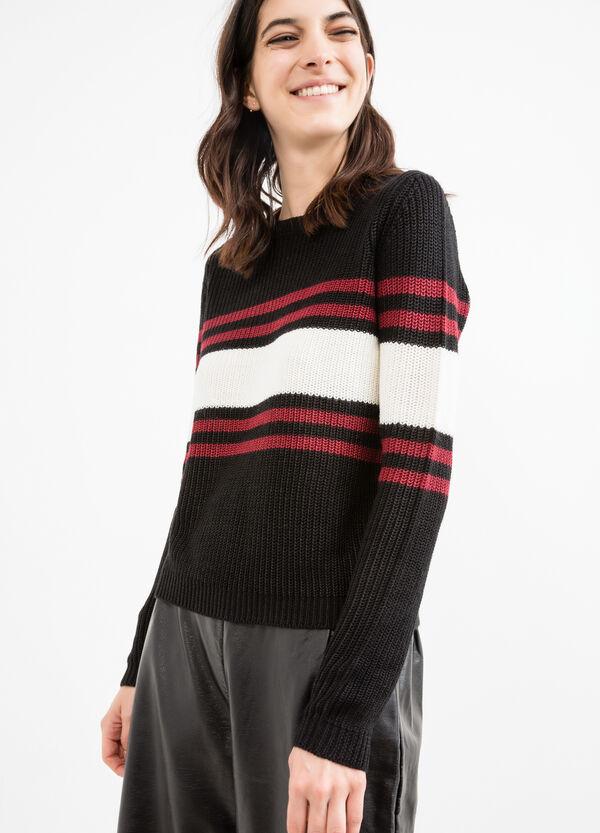 Pullover lavorato a tricot con ricami | OVS