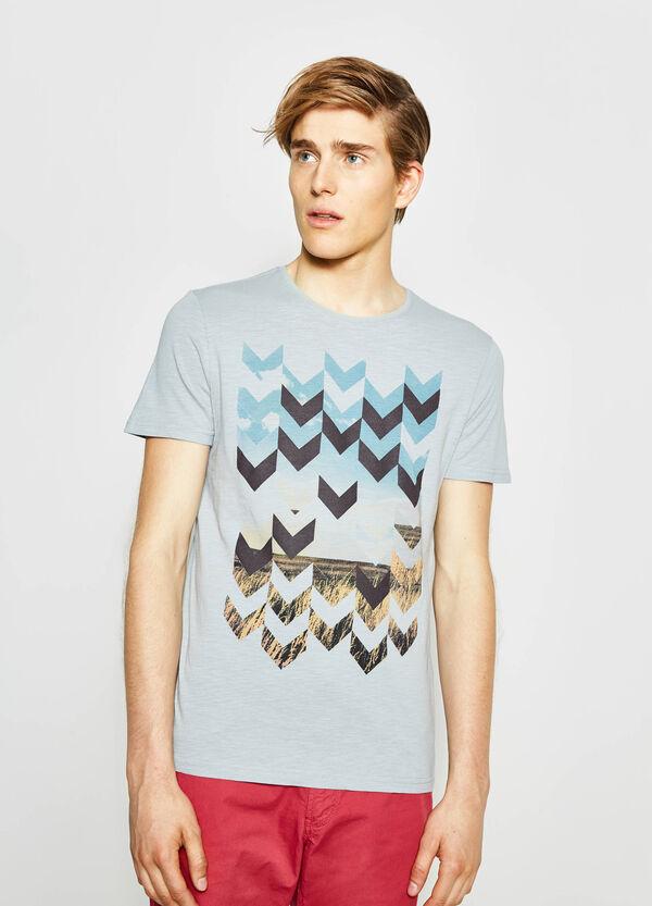 Printed cotton T-shirt   OVS