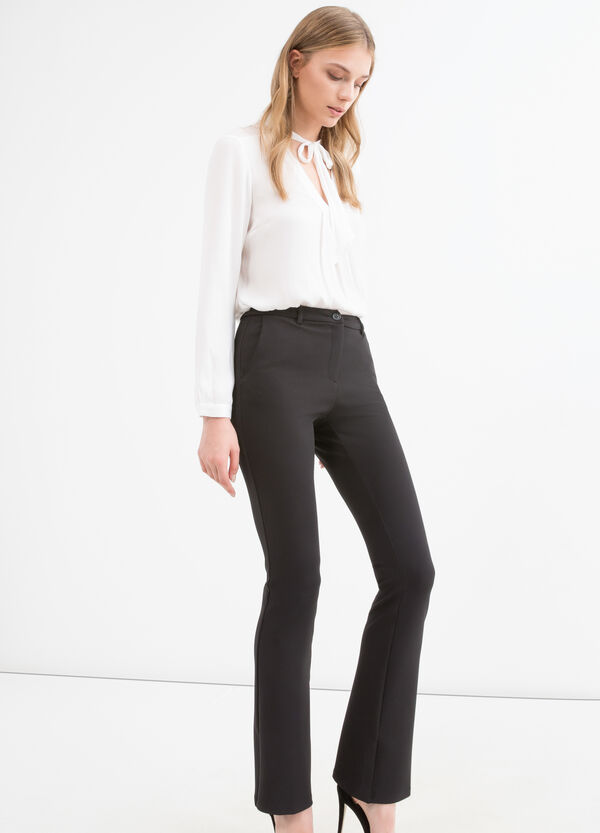 Stretch jersey trousers | OVS