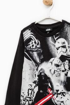 Star Wars maxi print T-shirt, Black, hi-res