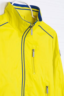 Windbreaker with high neck., Lime Green, hi-res