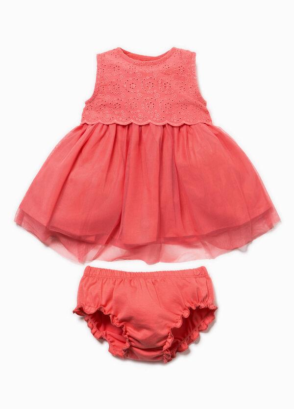 Conjunto de vestido y braguitas de algodón | OVS
