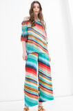 Blusa con fantasia multicolore, Multicolor, hi-res