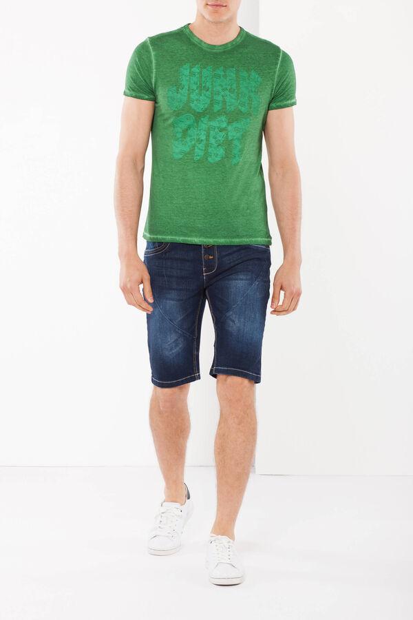 T-shirt con cuciture a contrasto | OVS