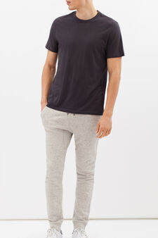 G&H cotton joggers, Light Grey, hi-res