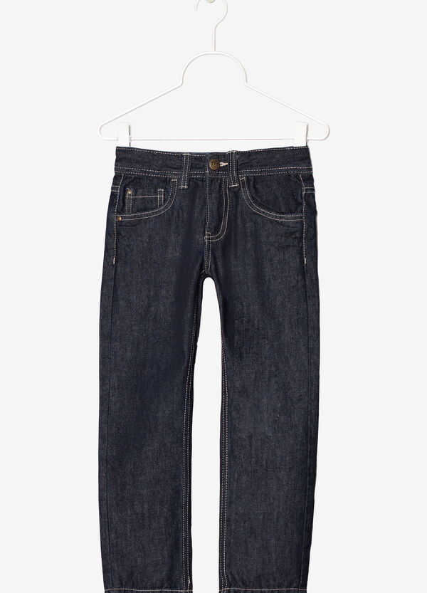 Jeans with zip fastening | OVS