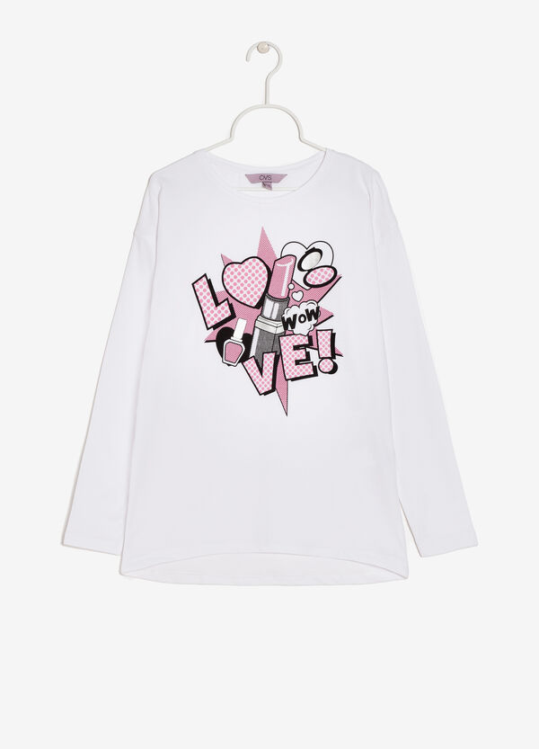 T-shirt maniche lunghe | OVS