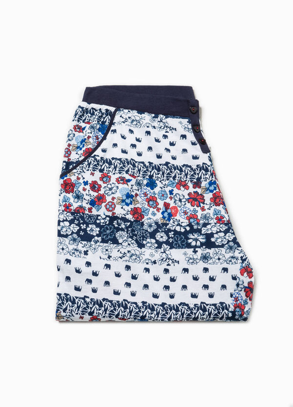 Pyjama trousers with all-over print | OVS