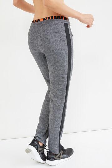 Pantaloni OVS Active Sport Training, Nero/Grigio, hi-res