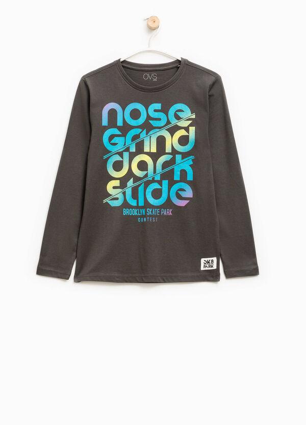 T-shirt a maniche lunghe | OVS