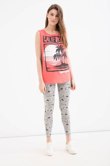 T-shirt maxi stampa Maui and Sons, Rosa, hi-res