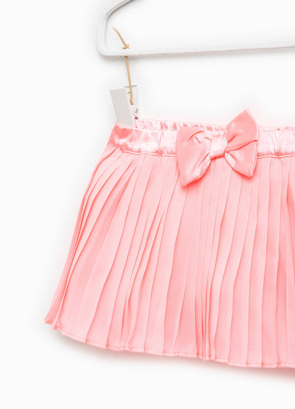 Pleated skirt with bow | OVS