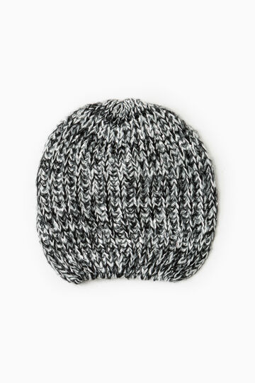 Sequinned beanie cap, Black/Grey, hi-res