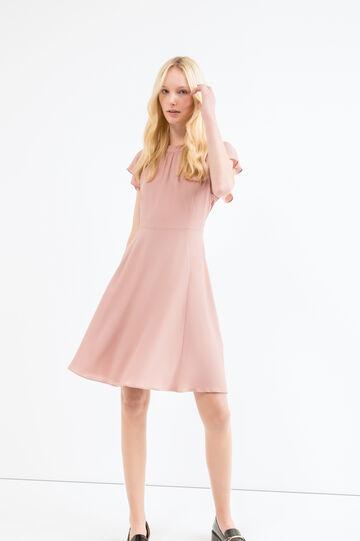 Plain stretch suit, Pink, hi-res