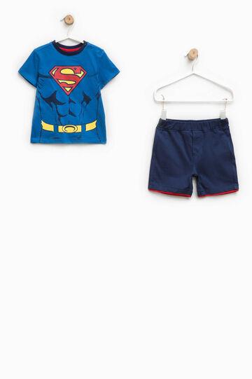 Completo con maxi stampa Superman