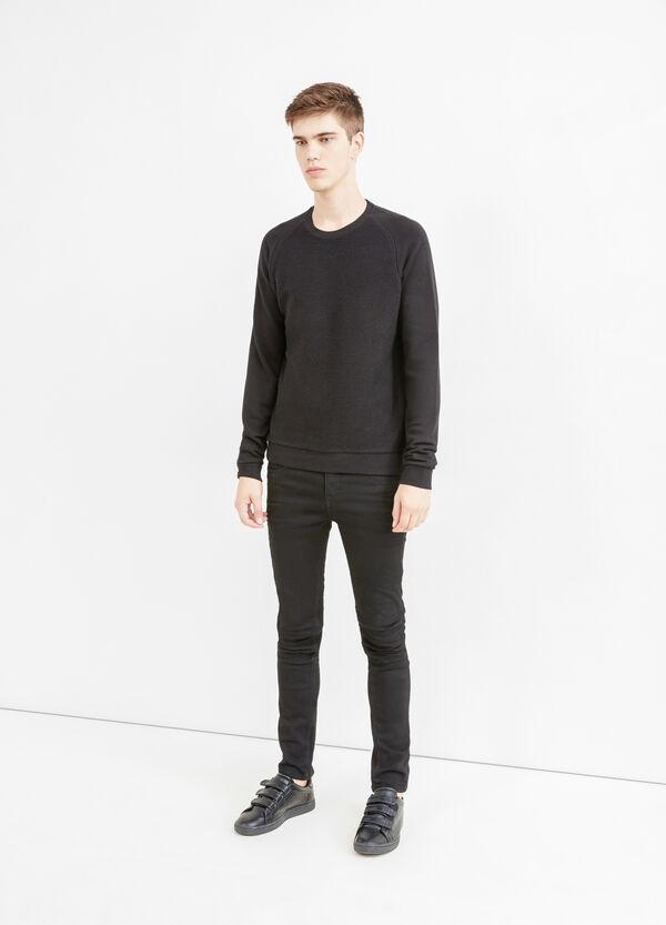 100% cotton sweatshirt with raglan sleeves | OVS