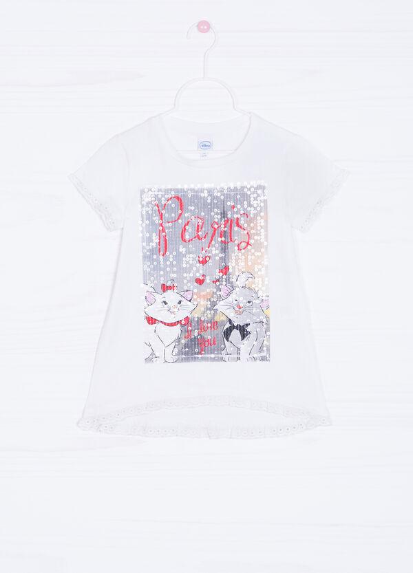 T-shirt cotone stretch Gli Aristogatti | OVS