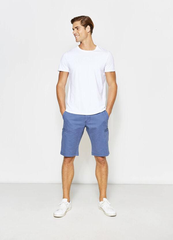 100% cotton Bermuda shorts with drawstring | OVS