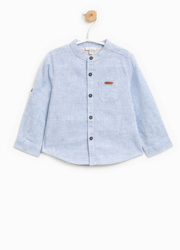 Linen and cotton shirt | OVS