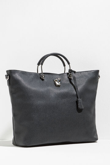 Handbag with textured effect