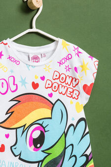 My Little Pony stretch cotton T-shirt, White, hi-res