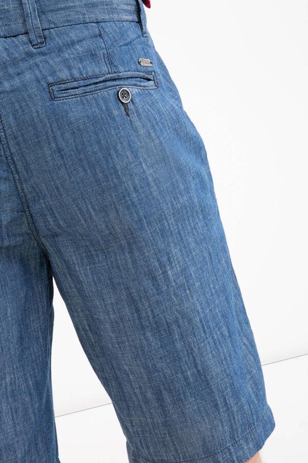 5-pocket denim Bermuda shorts | OVS