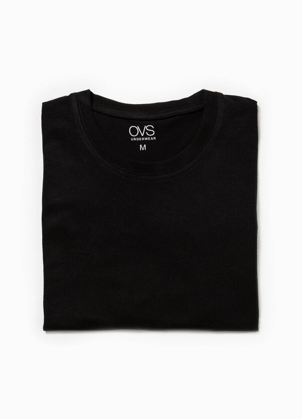 Solid colour undershirt in 100% cotton | OVS