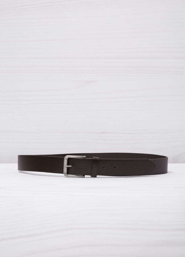 Smooth faux leather belt | OVS