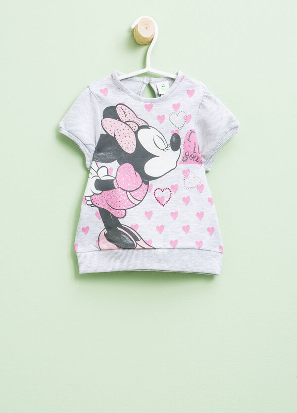 Cotton dress with Minnie Mouse print | OVS
