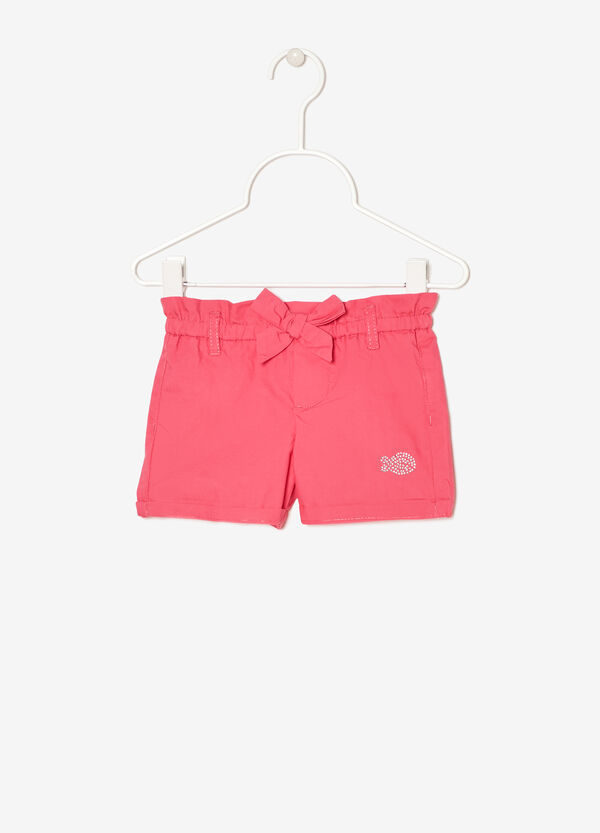 Short with rhinestones and bow | OVS