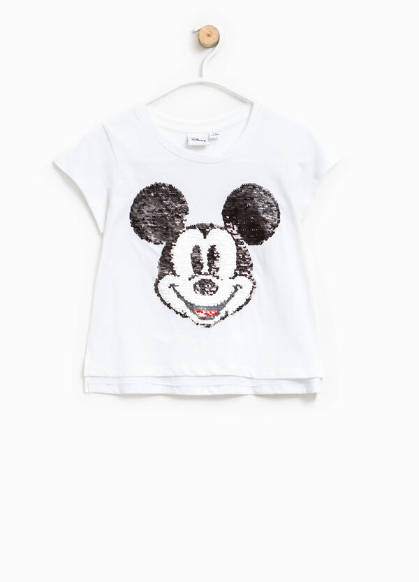 Mickey Mouse T-shirt with sequins | OVS