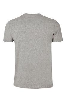 Crew neck underwear T-shirt, Grey Marl, hi-res