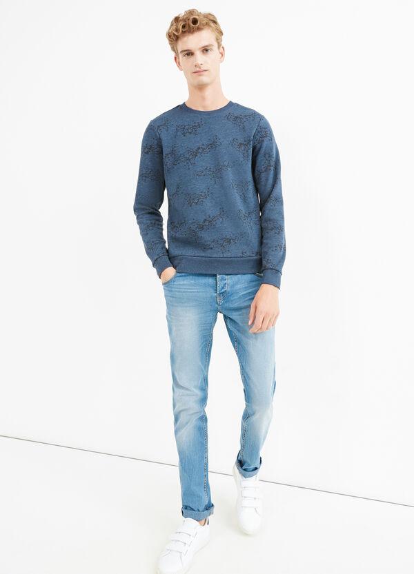 Jersey de algodón con estampado por todo | OVS