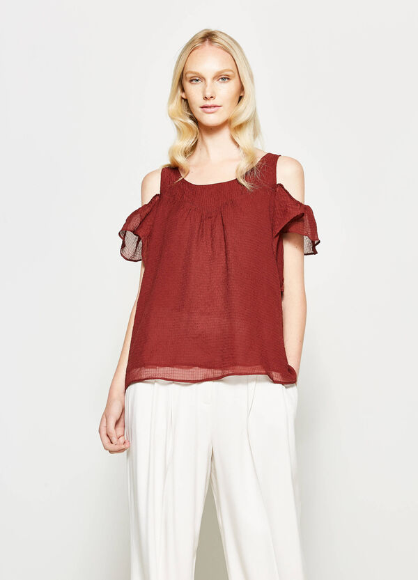 Creased effect blouse | OVS